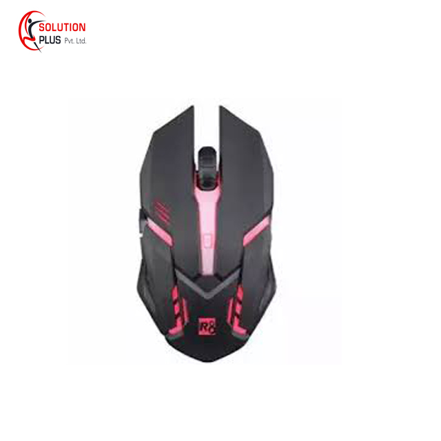 1632 R8 Backlit Gaming Mouse – Black