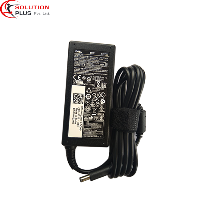 Dell Laptop Adapter Charger 65w 19.5V 3.34A (New Small Pin 4.5*3.0mm)