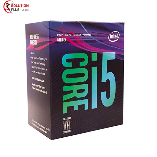Intel Core i5-8400 Desktop Processor 6 Cores up to 4.0 GHz