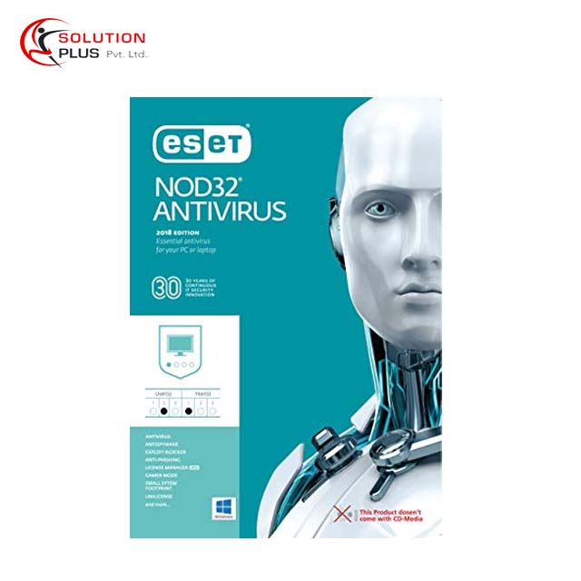 Eset NOD32 2018 Edition 3 User Antivirus For Windows