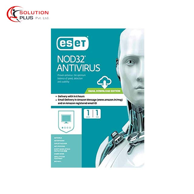 Eset NOD32 2018 Edition 1 User Antivirus For Windows