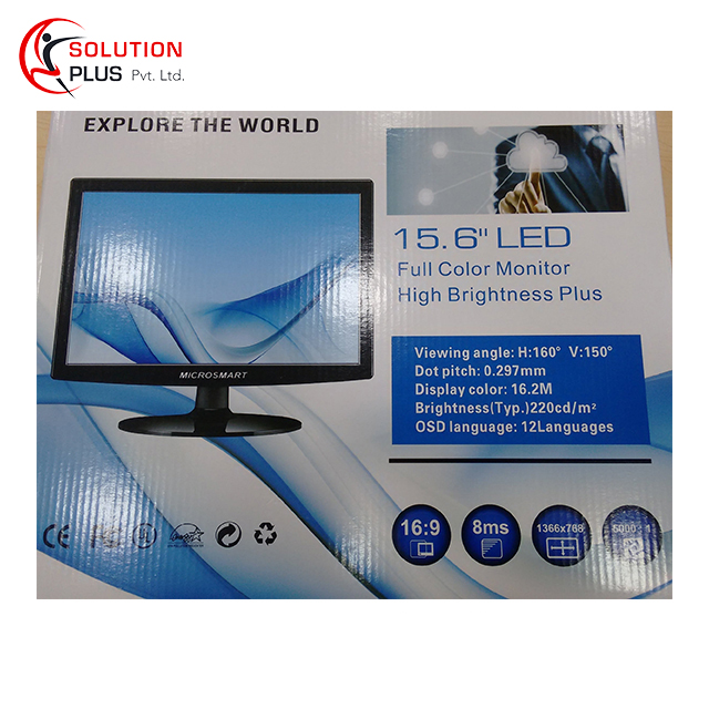15.6-inch LED Backlit Computer Monitor